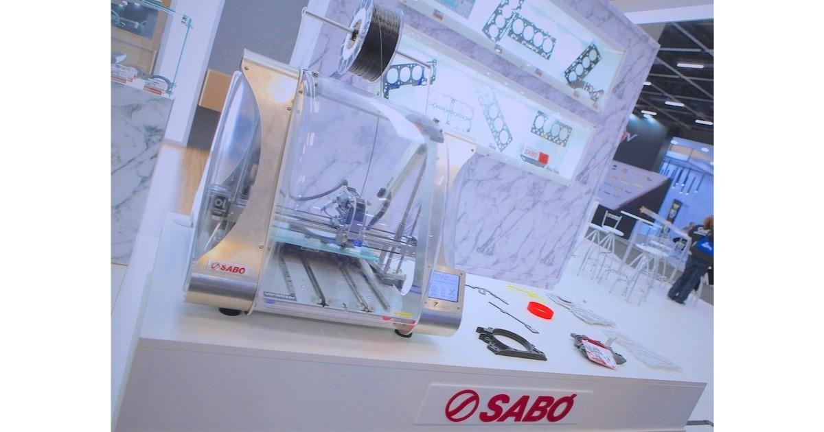 SABÓ mostra impressão 3D e projeção para operação 4.0