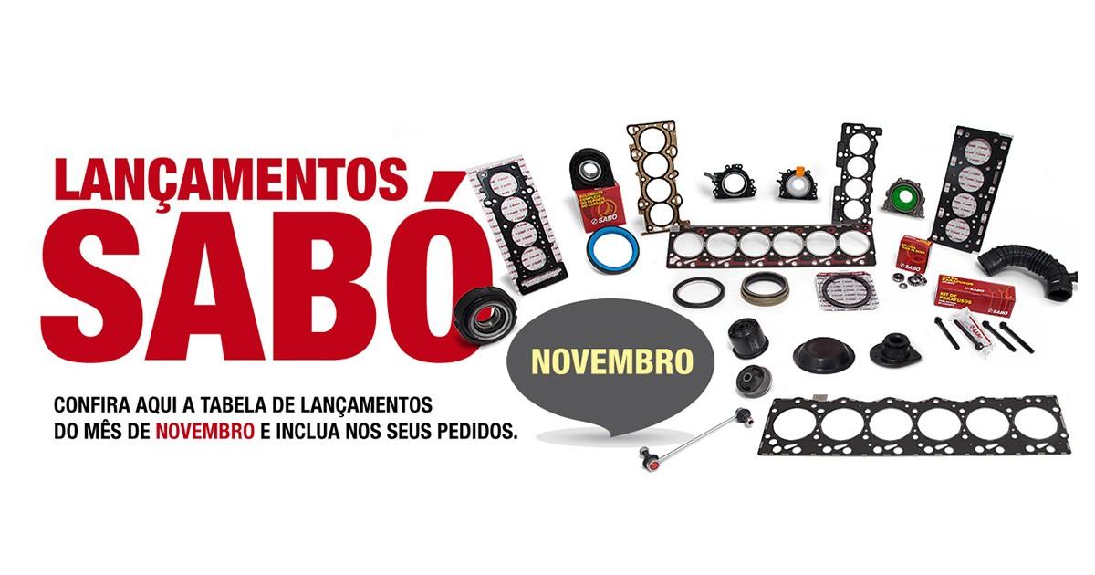 SABÓ encerra novembro com o lançamento de mais de 50 itens em seu portfólio