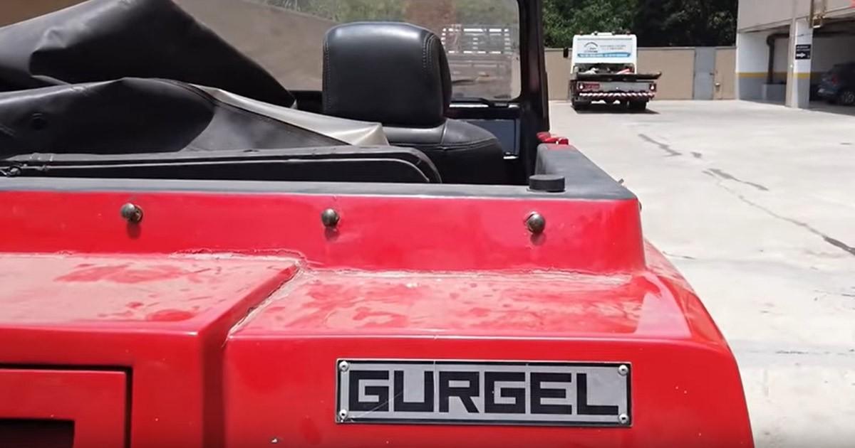 Projeto Gurgel vai ganhando aparência de carro novo