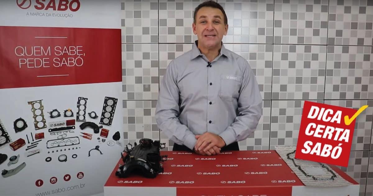 Professor Tenório orienta a troca do diafragma da tampa de válvulas nos modelos Fiat Mobi e Chevrolet Cruze
