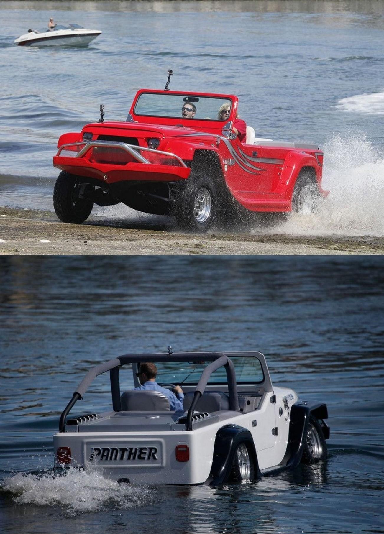 water car phanter