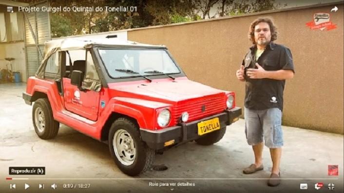 A Sabó participa da restauração de um ícone dos automóveis nacionais.
