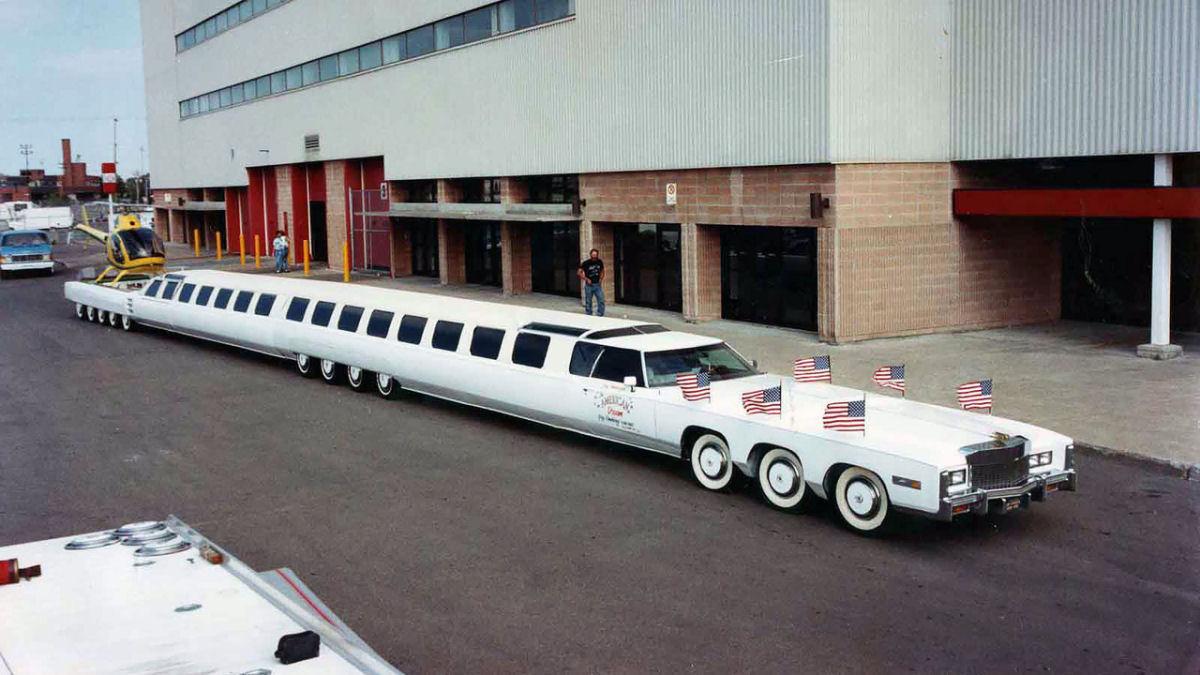 Conheça o carro mais longo do mundo