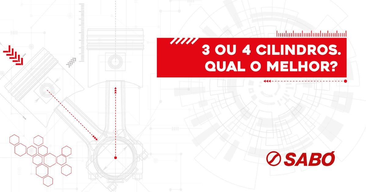 Conheça as inovações do motor de três cilindros no e-book SABÓ