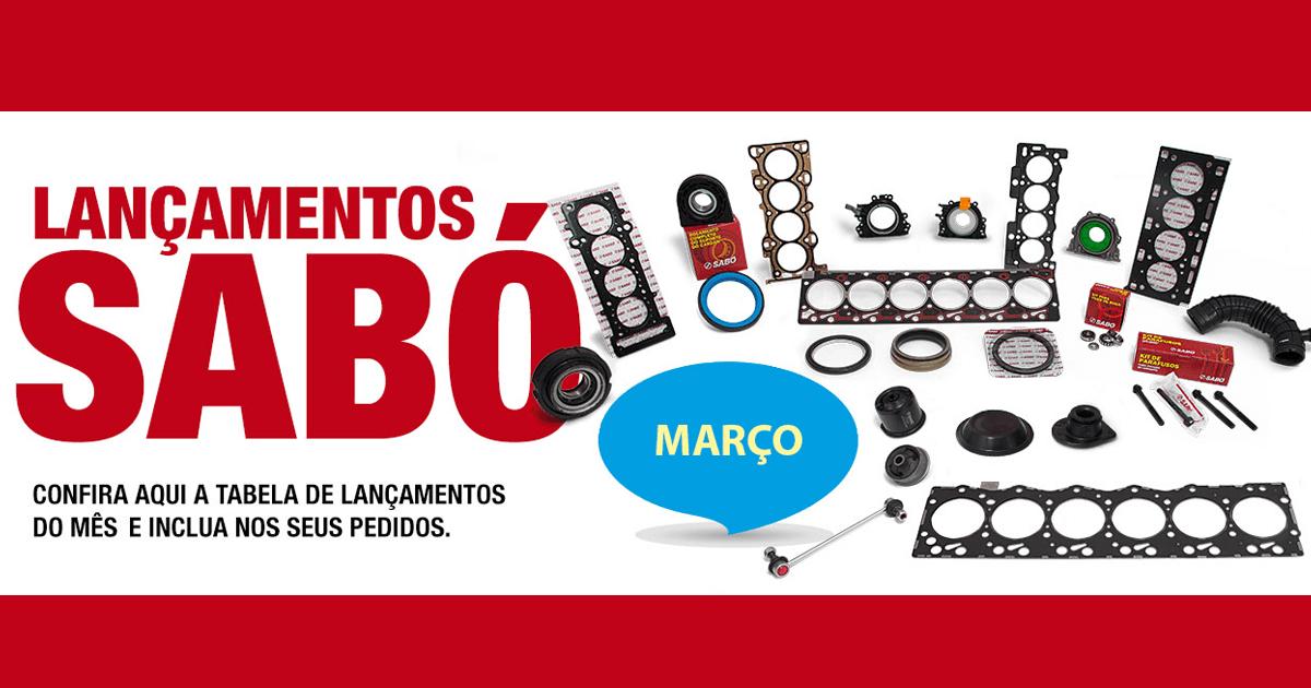 Março segue com mais itens no portfólio SABÓ!