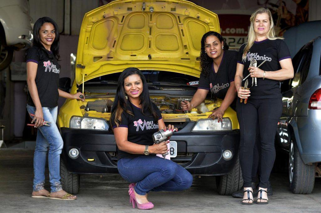 Mulher, mecânica, empreendedora e finalista de evento promovido pela ONU