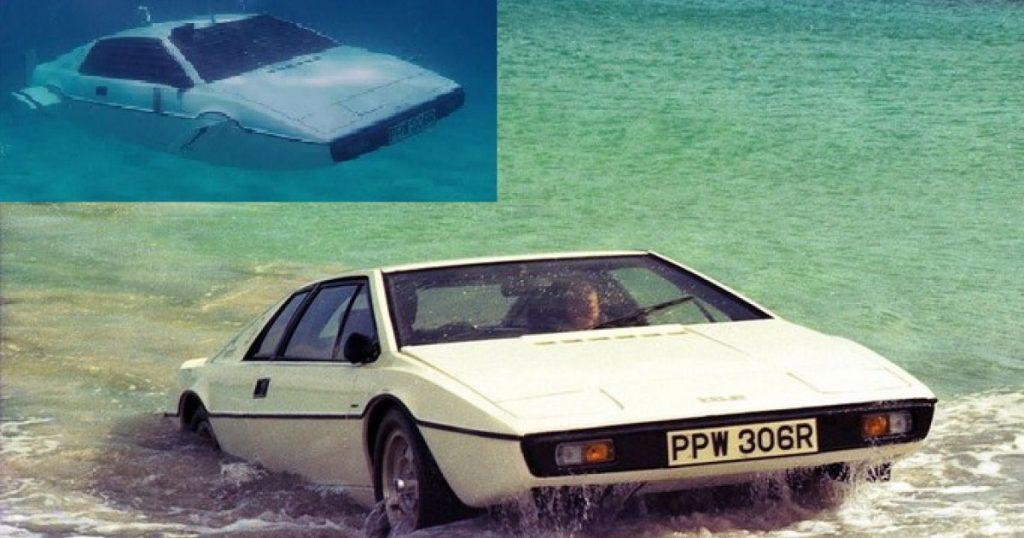 um carro que anda na terra e na agua